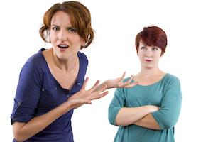 Conflict between volunteers